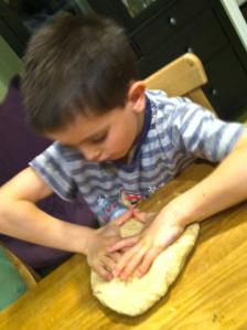 Sage's roti dough